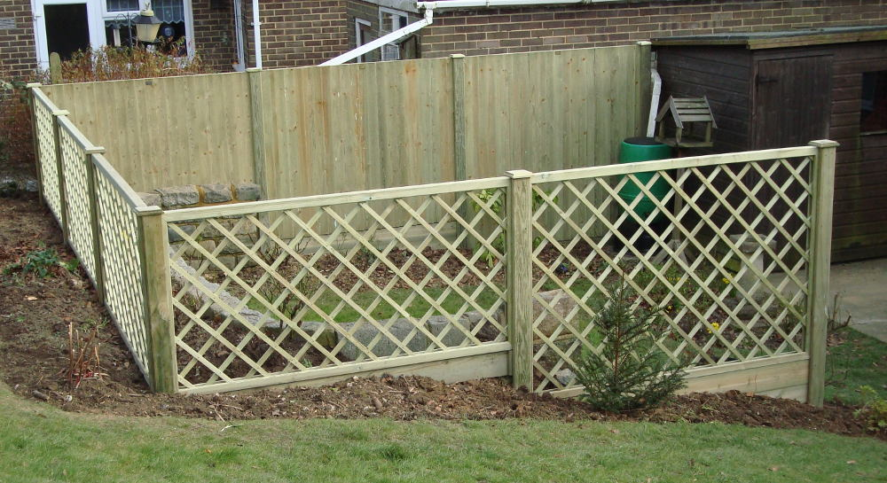 Stephen Huxtable  - fencing supplied and erected